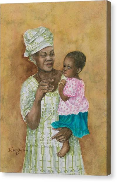 Loving Care Canvas Print