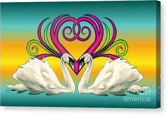 Loving Souls Canvas Print