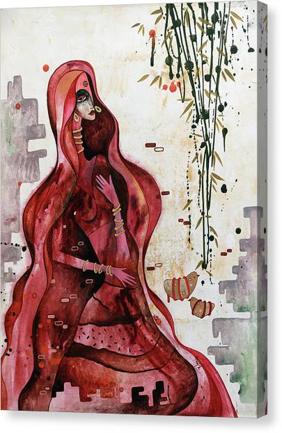 Loving The Unknown - Seeking Canvas Print