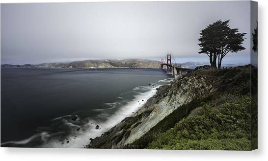 Low Cloud Canvas Print