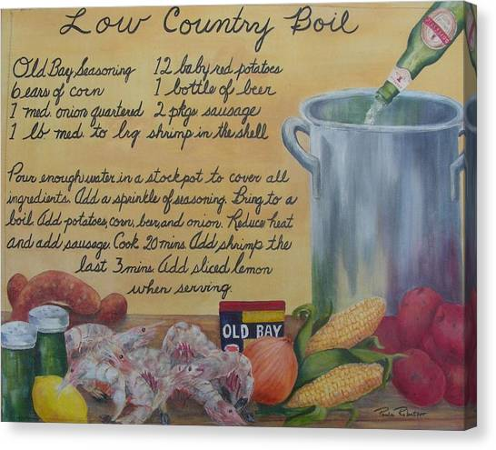 Low Country Boil Canvas Print