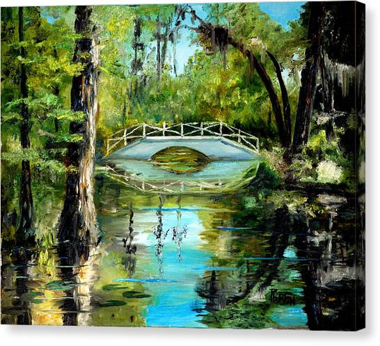 Low Country Bridge Canvas Print