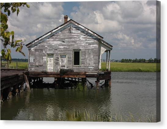 Low Country Fish Shack Canvas Print