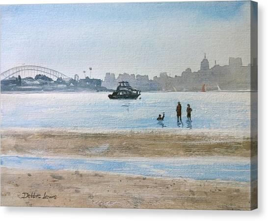 Low Tide At Rose Bay Canvas Print
