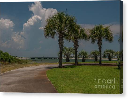 Mls Canvas Print - Lowcountry Welcome by Dale Powell