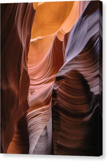 Lower Antelope Canyon Navajo Tribal Park #1 Canvas Print