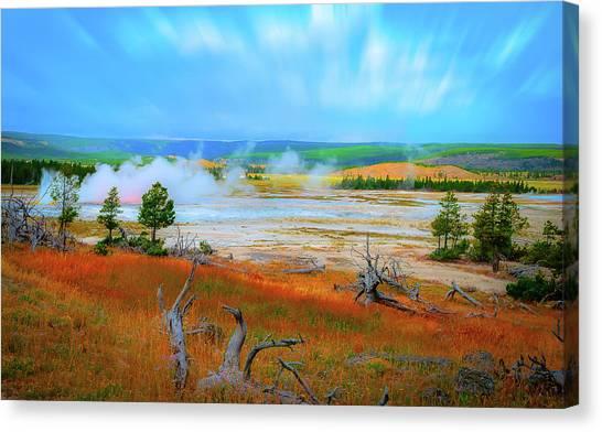 Lower Basin Canvas Print