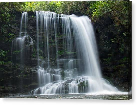 Lower Bearwallow Falls Canvas Print