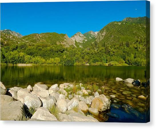Lower Bells Canyon Reservoir Canvas Print