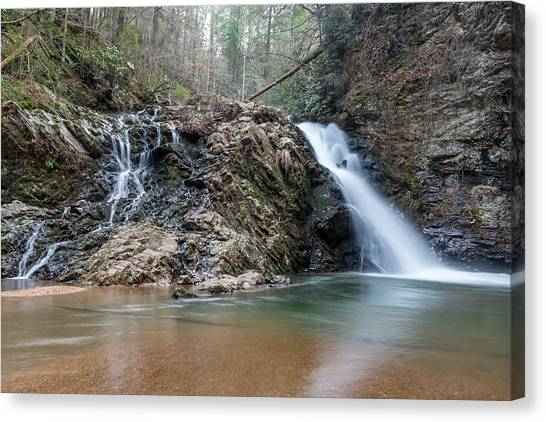 Lower Brasstown Falls Canvas Print