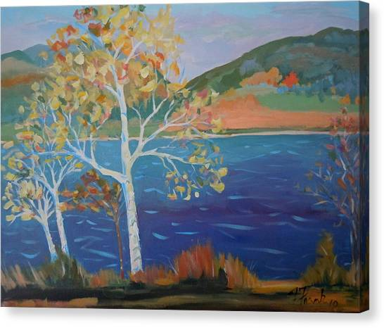 Lower Hadley Pond Canvas Print
