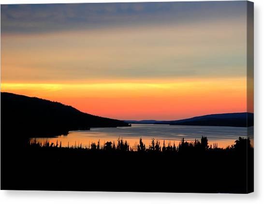 Canvas Print featuring the photograph Lower Lake St. Marys by David Armstrong