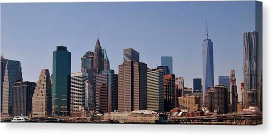Lower Manhattan Nyc #2 Canvas Print