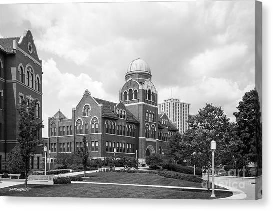 Loyola University Chicago Canvas Print - Loyola University Chicago Cudahy Science Hall by University Icons
