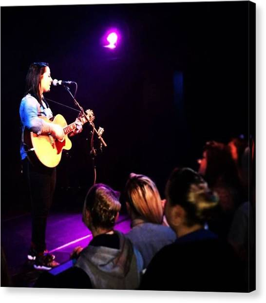 @lspraggan #hometour #home #livemusic Canvas Print by Natalie Anne