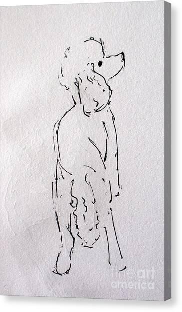 Lu Lu Canvas Print