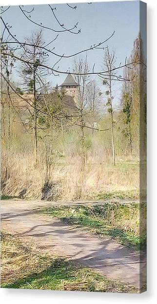 Lubart Castle Canvas Print