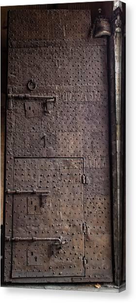Lucca Portal Canvas Print