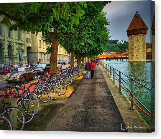 Lucern Stroll Canvas Print