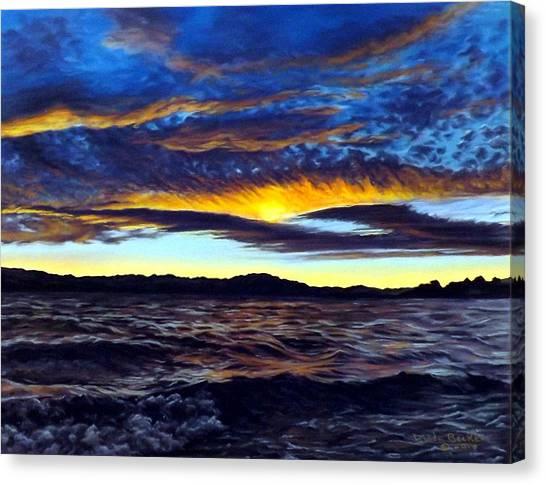 Lucerne Sunset Canvas Print