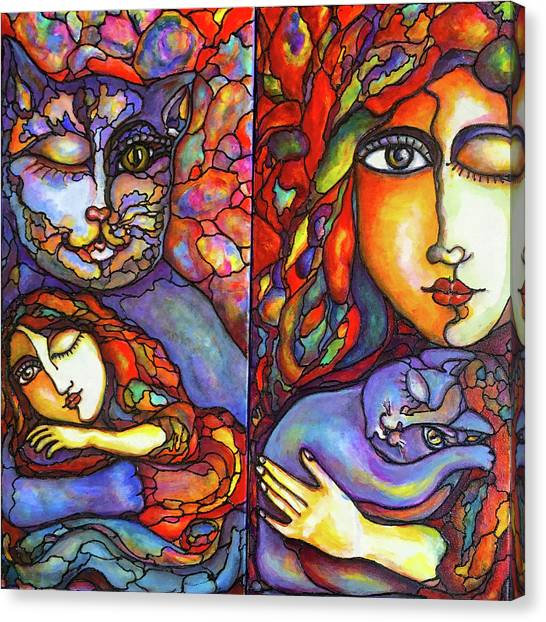 Lucid Dreams Canvas Print
