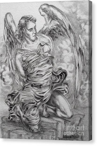 Lucifer Bound Canvas Print