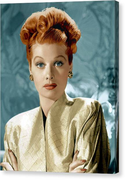 Balls Canvas Print - Lucille Ball by Everett Collection