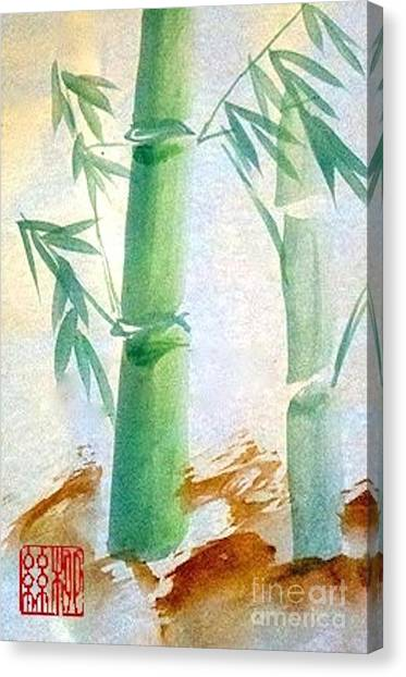Lucky Bamboo Canvas Print