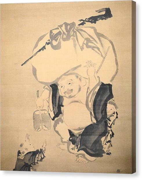 Canvas Print - Lucky Gods Hotei by Keisuke Ueda