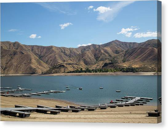 Lucky Peak, Idaho Canvas Print