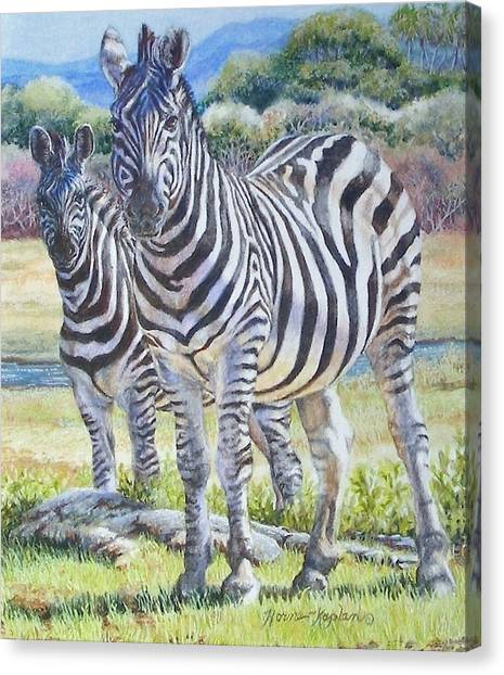 Lucky Stripes Canvas Print