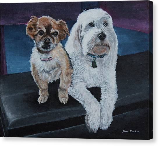 Lucy And Colby Canvas Print