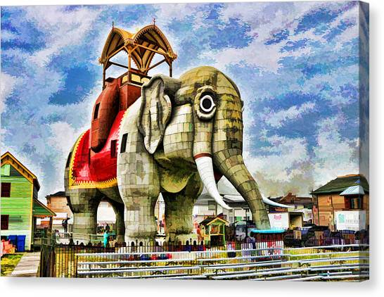 Lucy The Elephant 2 Canvas Print
