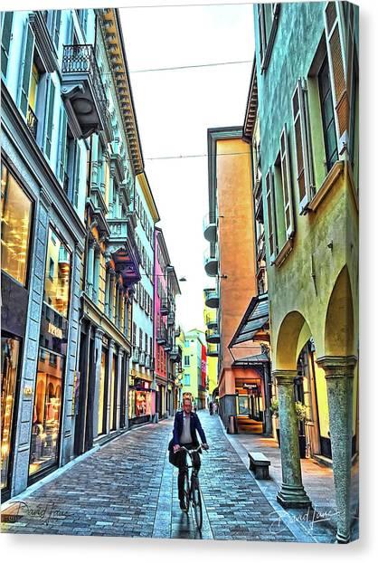 Lugano Switzerland Canvas Print