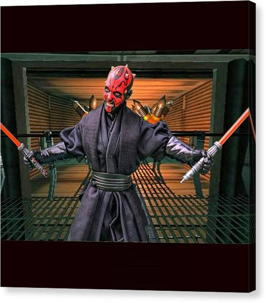 Jedi Canvas Print - Luke Has Entered The Imperial Bunker by Russell Hurst