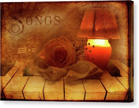 Lullaby Canvas Print by Rozalia Toth