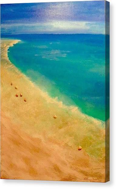 Lumbarda Canvas Print