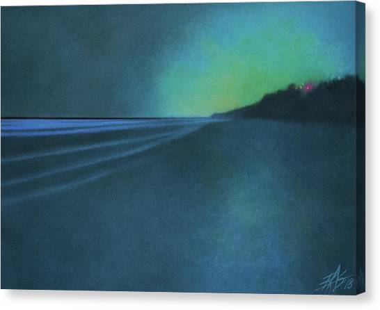 Luminescence At Torrey Pines II Canvas Print by Robin Street-Morris