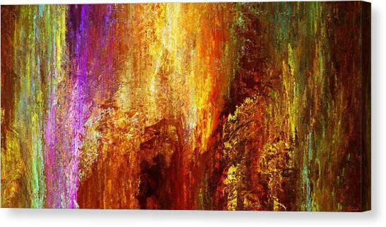 Luminous - Abstract Art Canvas Print