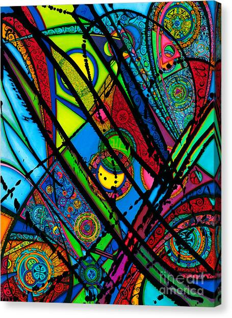 Luminus Aka Light  Canvas Print