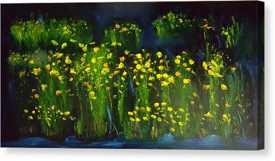 Lumonious Buds     17 Canvas Print