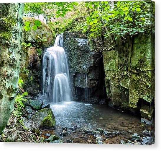 Lumsdale Falls Canvas Print