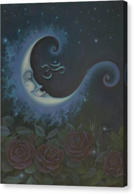 Lunar Connections Canvas Print