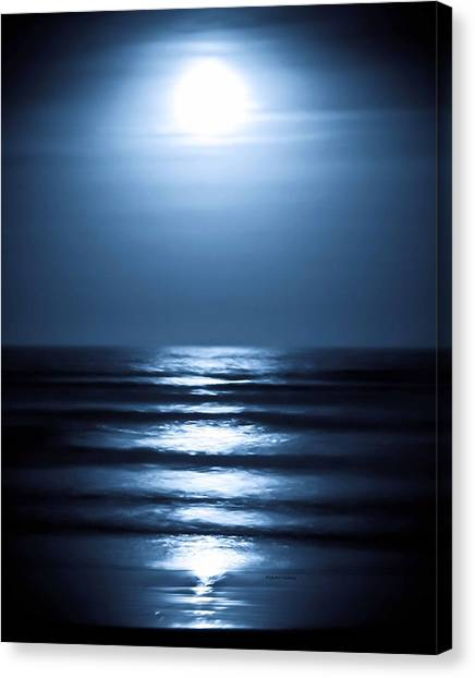 Lunar Dreams Canvas Print