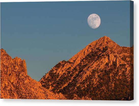 Lunar Sunset Canvas Print