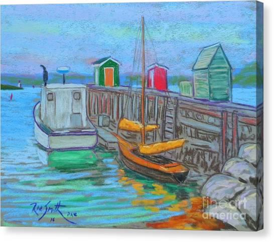 Lunenburg Waterfront  Canvas Print
