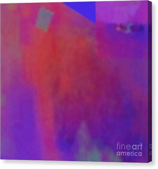 Meditation-lungta Windhorse Canvas Print