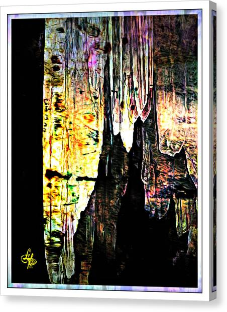 Luray Cavern Abstract 2 Canvas Print