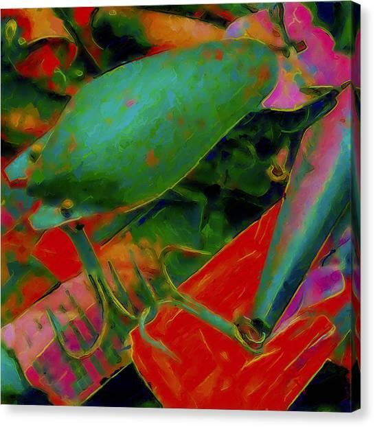 Canvas Print - Lured by Modern Art
