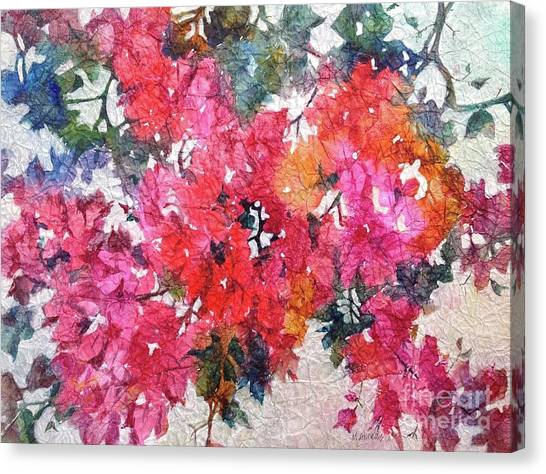 Luscious Bougainvillea Canvas Print